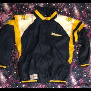 Michigan Wolverines Mighty Mac Sports Windbreaker